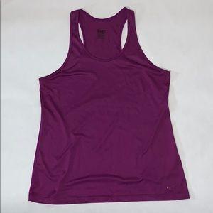 Nike Sri-fit purple grape razorback tank